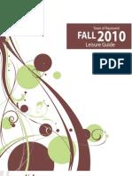 Leisure Guide Fall 2010