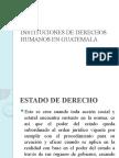 Instituciones de Derechos Humanos en Guatemala