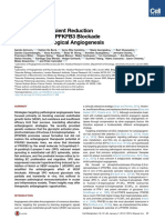 Partial and Transient Reduction of Glycolysis by PFKFB3