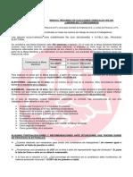 Manual Elecciones Sindicales