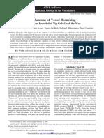 Mechanisms of Vessel Branching
