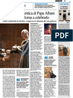 Urbino dimentica Papa Albani. Ci pensa Roma a celebrarlo - Il Resto del Carlino del 7 gennaio 2018