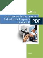 Constitucion Monografia Eirl
