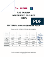Materials Management Plan Rev 4