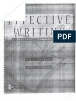 Effective Writing - 1 - Preface