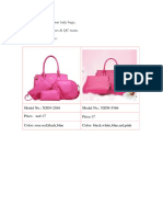 3 Pcs Set Handbags