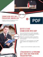 3 Prix & Soumissions pour Évaluation Immobilière par Évaluateur