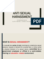 Anti Sexual Harassment Seminar