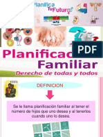 Planificacion Familiar - Materno