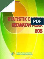Statistik Daerah Kecamatan Pujer 2015