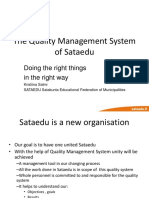 Quality Management System ---- II