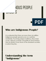 Indigenous People Groups