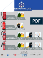 The Uses of Fire Extinguishers KUWAIT- KFF 9432