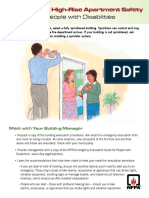 Apartment Safety Disabilities