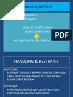 10.Handling & Restraint