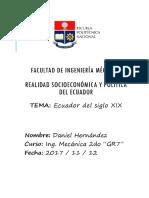 Ecuador Del Siglo XIX