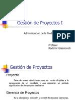 Gestion de Proyectos I