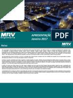 MRV Apresentação Institucional Resumida_POR