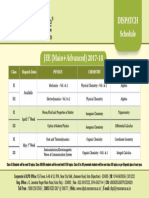 Dispatch Schedule 2017 JEE Main Advanced