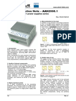 AAN 2008.1 - New Features of DZ1 Power Supplies Series (ENG)
