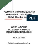 Control Automatico en Procesamiento de Minerales