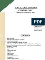 Architectural Design-Vi Literature Study of Mall