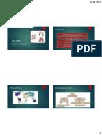 ASMA Etiopatogenia y Tratamiento