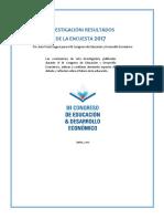 III Congreso de educación y desarrollo económico