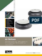 Parker Pneumatic Air Bellows Series PDE2576TCUK