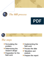 The MR Process