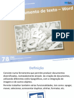 click78 p7 proc texto word aula 1