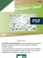 click78 p78 folha calculo excel aula 1