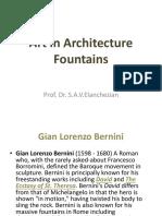 Art in Architecture - III