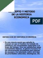 90693455 1 Concepto y Metodo de La Historia Economica 1