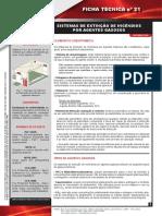 Ficha Tecnica Nº 21 Sistemas de Extincao de Incendios Por Agentes Gasosos