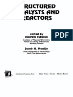 A.cybulski, J.moulijn - Structured Catalyst and Reactors