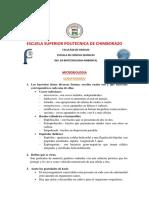 Cuestionario Microbiologia Principal