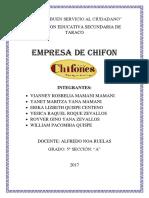 Empresa de Chifon