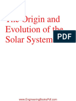 The Origin and Evolution of the Solar System by M M Woolfson