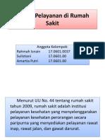Sistem Pelayanan Di Rumah Sakit(KDK P Sigit)