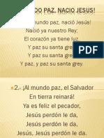 AL MUNDO PAZ, NACIO JESUS!.pptx