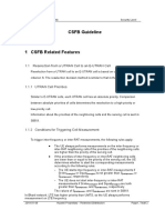 CSFB Guideline and Related Features