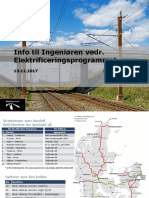 Elektrificering af jernbanen