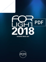 201801 Forlight Price List Euro Eu Spain