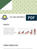 PPT Gizi Anak Dan Remaja