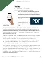 Evangelização na Era do Iphone. 13.01.17