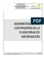 IU-SOP-04-02 Administracion de Contrasenas de La Plataforma de Informacion