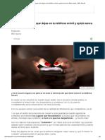 5 Datos Personales Que Dejas en Tu Teléfono Móvil y Quizá Nunca Te Diste Cuenta