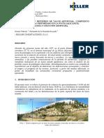 Estabilización y Refuerzo de Talud Artificial Compuesto Por Muro de Suelo Reforzado en La Nucía Goran VukoticFernando de La Guardia 2009