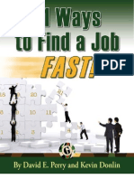 21 Ways to Find a Job Fast